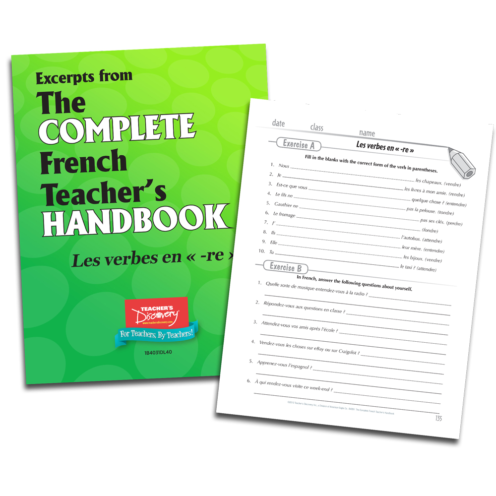 Les verbes en -re - French - Book Excerpt Download