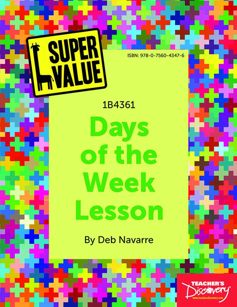 Super Value Days of the Week Lesson Spanish Download