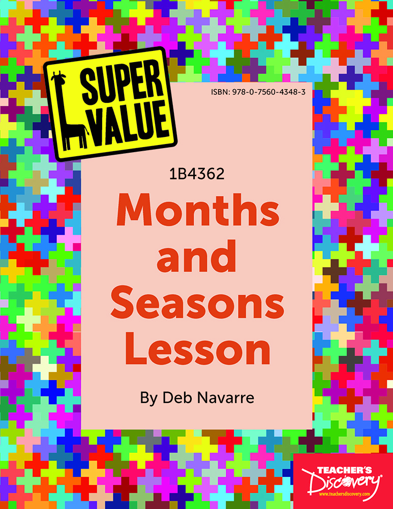 Super Value Months and Seasons Lesson Spanish Download