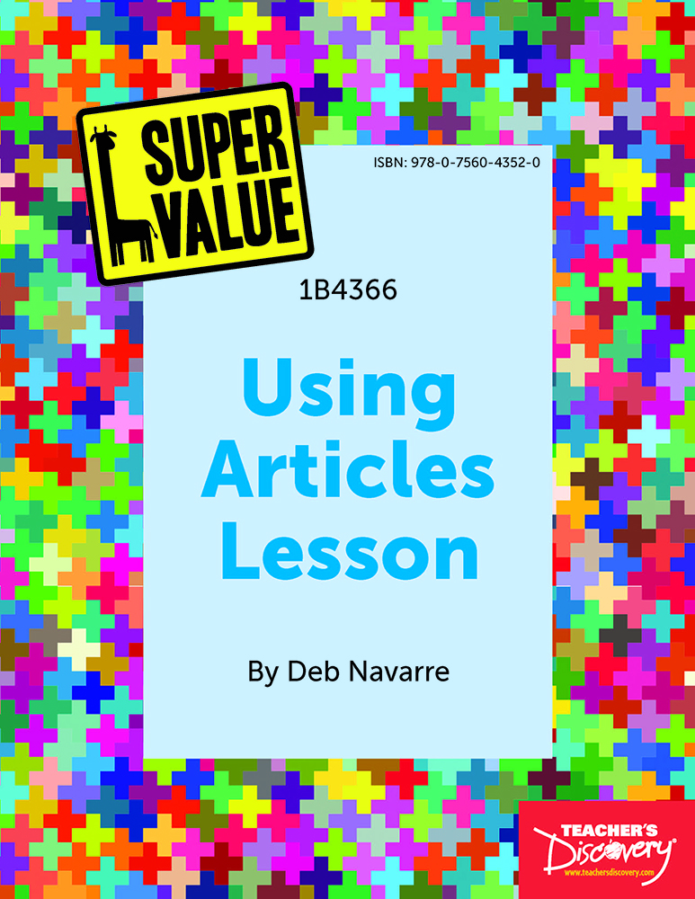 Super Value Using Articles Lesson Spanish Download