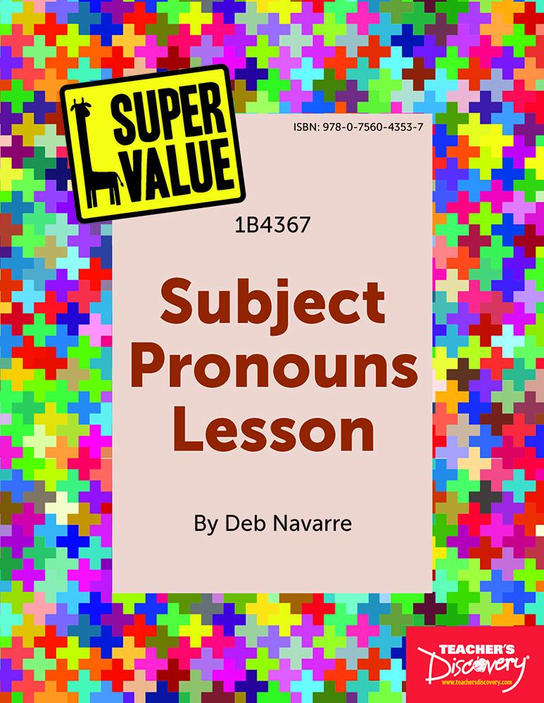 Super Value Subject Pronouns Lesson Spanish Download