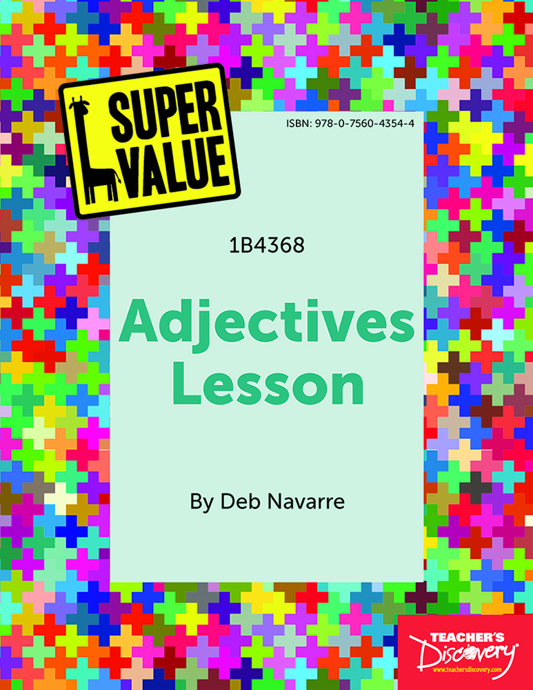 Super Value Adjectives Lesson Spanish Download