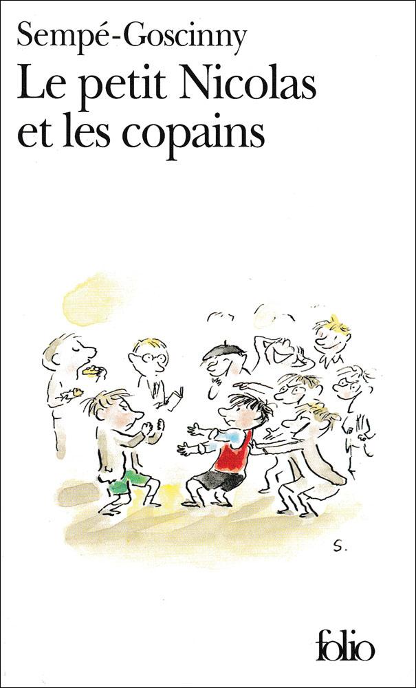Le Petit Nicolas et les copains French Book
