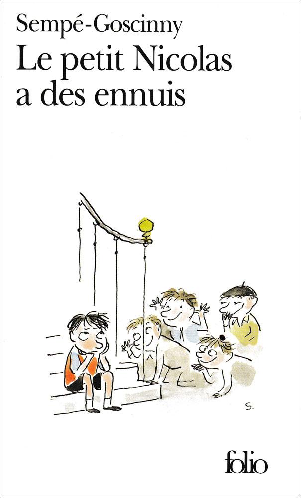 Le Petit Nicolas a des ennuis French Book