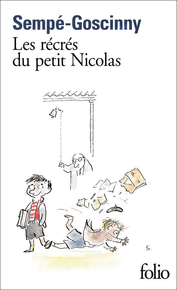Les récrés du Petit Nicolas French Book