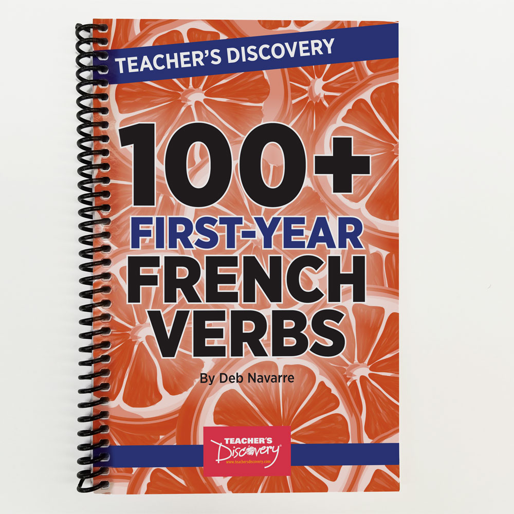 100+ First-Year French Verbs Book
