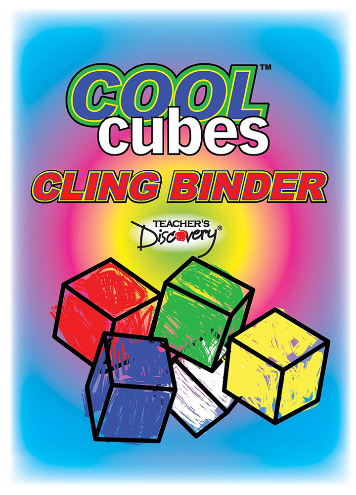 Cool Cubes™ Clings Binder