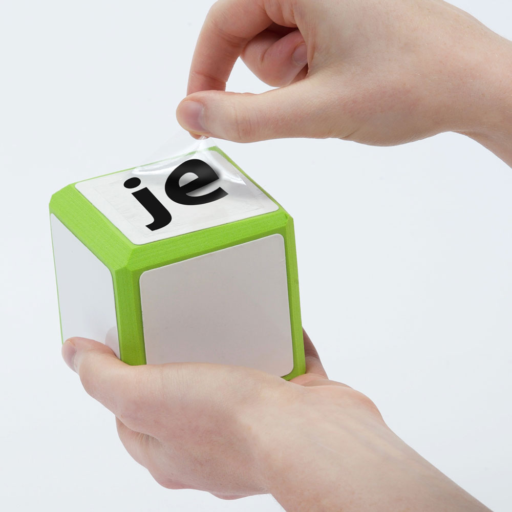 Cool Cubes™ Sentence Starter French Clings