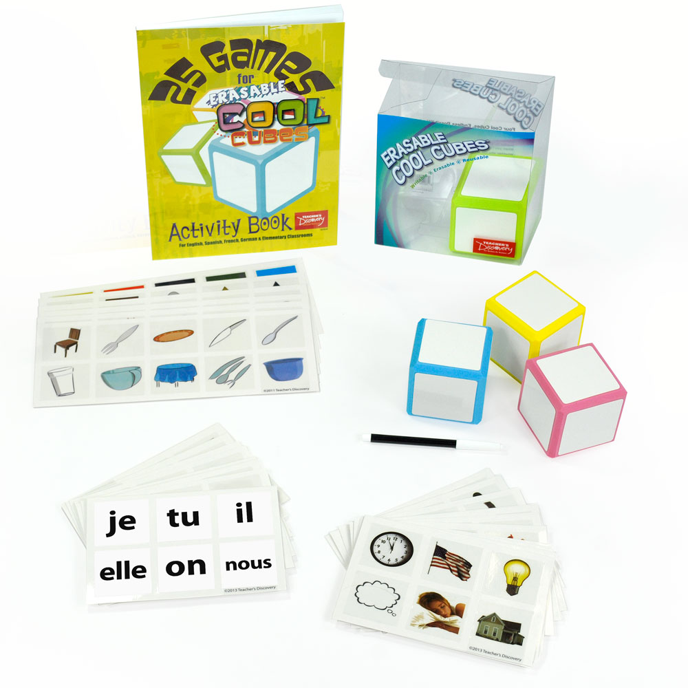 Cool Cubes™ French Starter Set