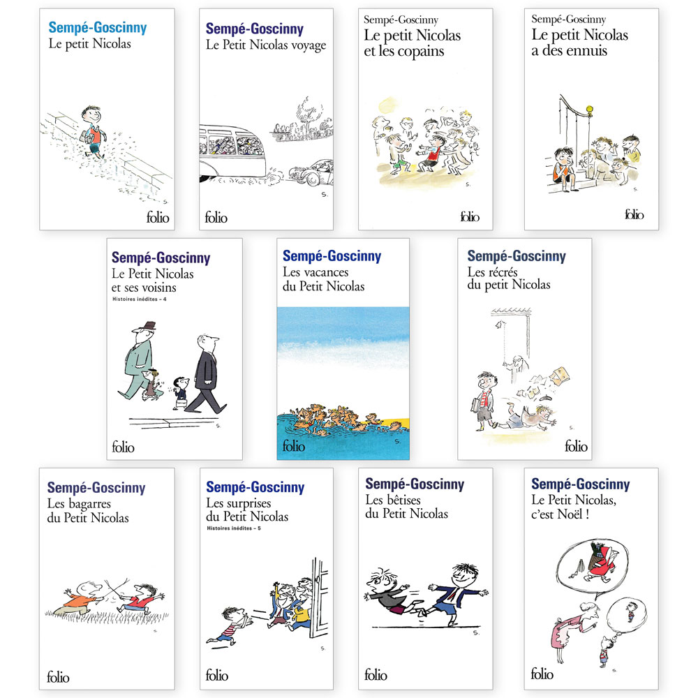 Le petit Nicolas French Collection - Set of 11 Books