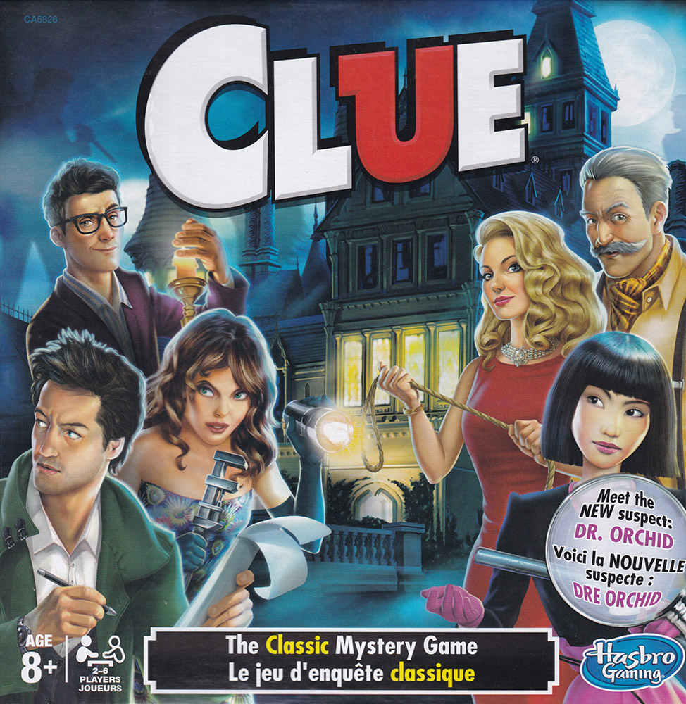 French/English Cluedo Game