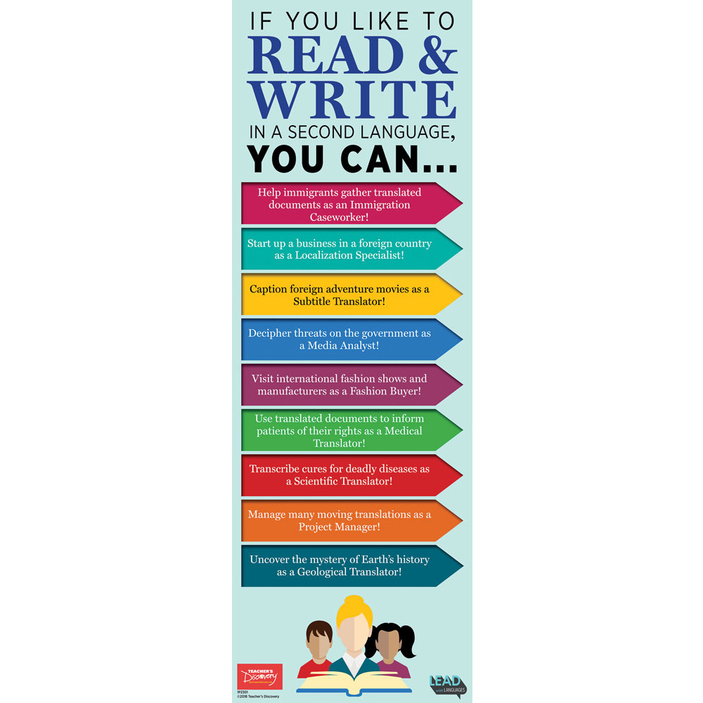 If You Like to Read and Write Skinny Poster