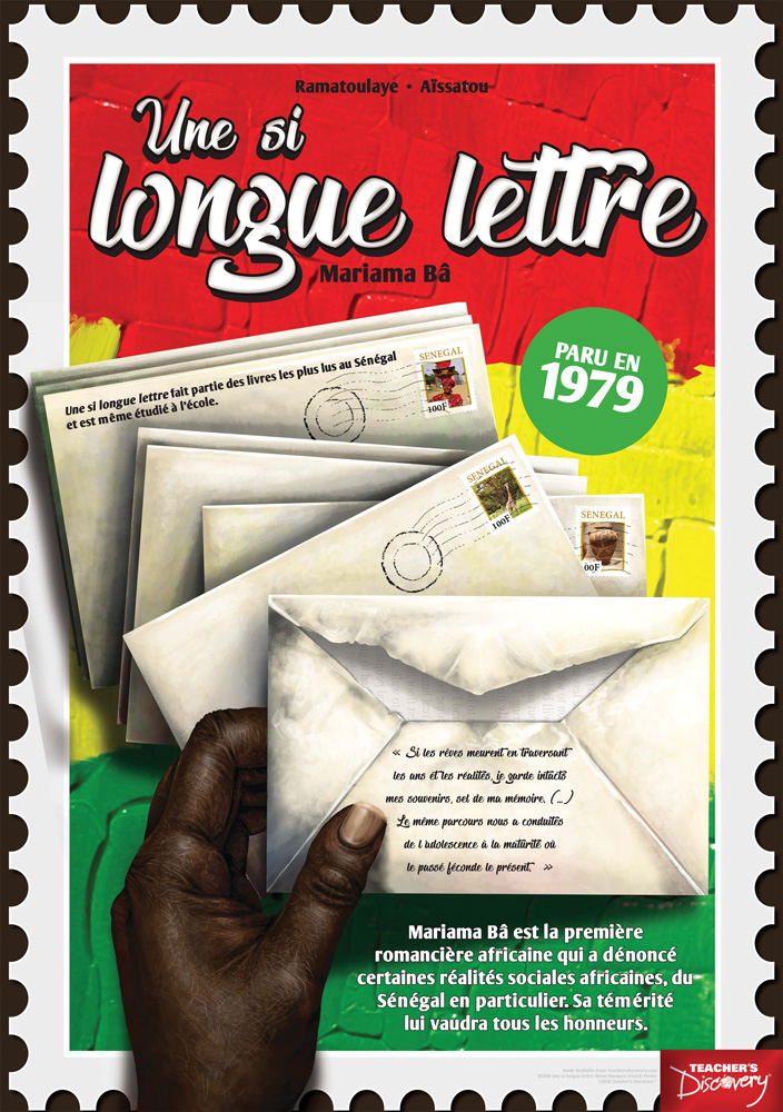 Une si longue lettre Marquee French Poster