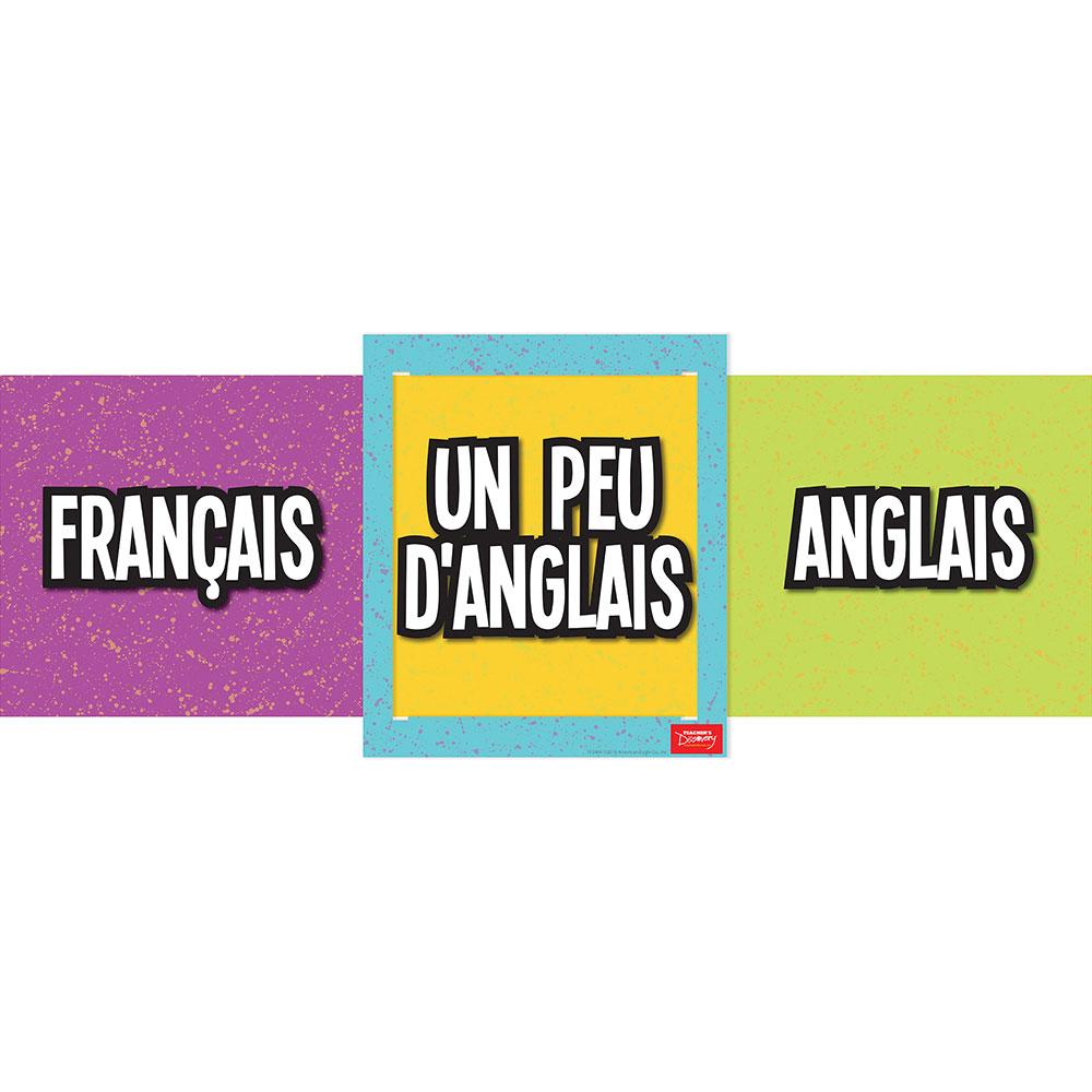 Slide French Poster
