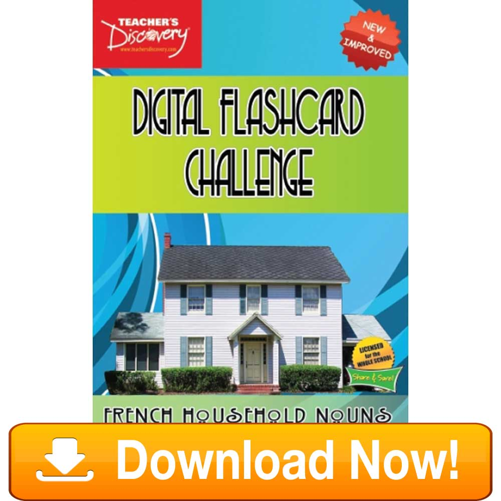 French Digital Flashcard Challenge Promethean Household Download