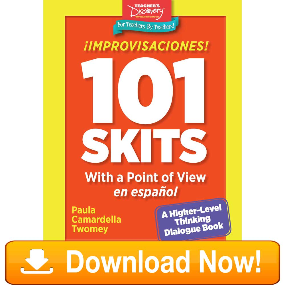 ¡Improvisaciones! 101 Skits with a Point of View en español Book Download