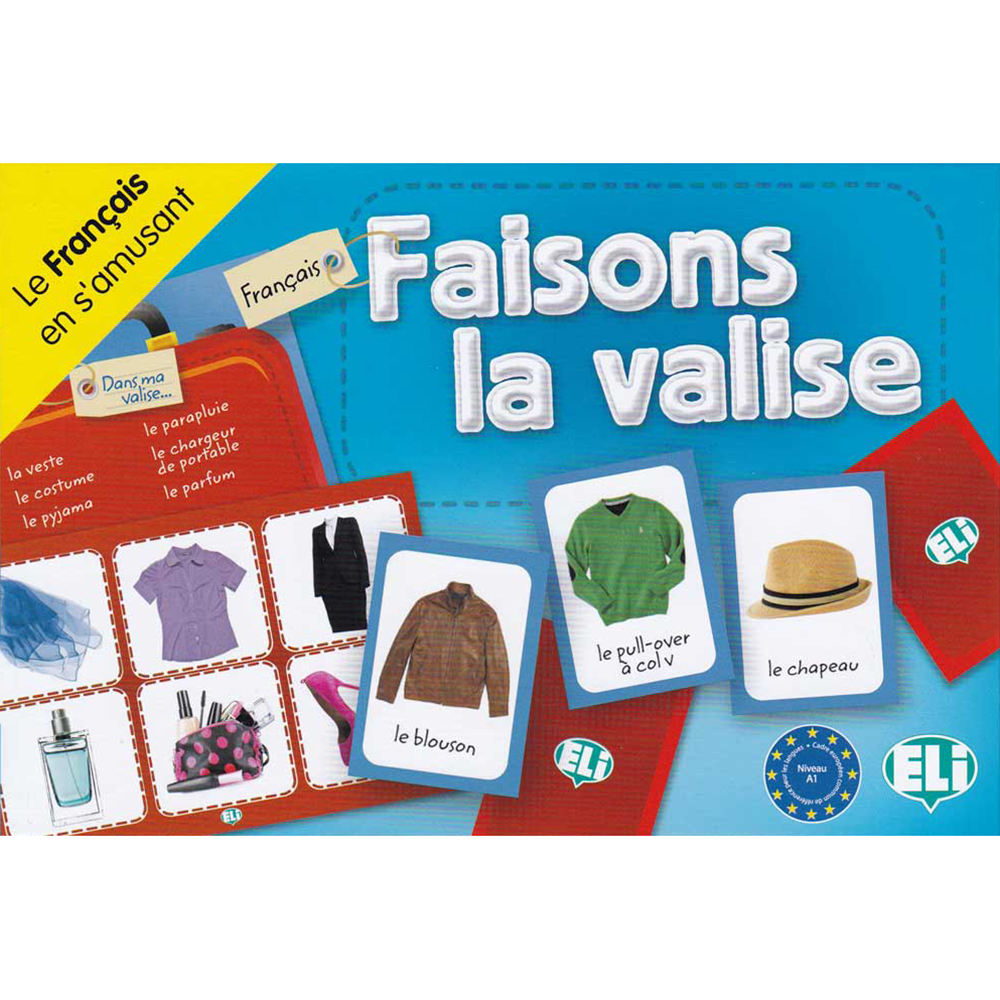 Faisons la Valise French Game