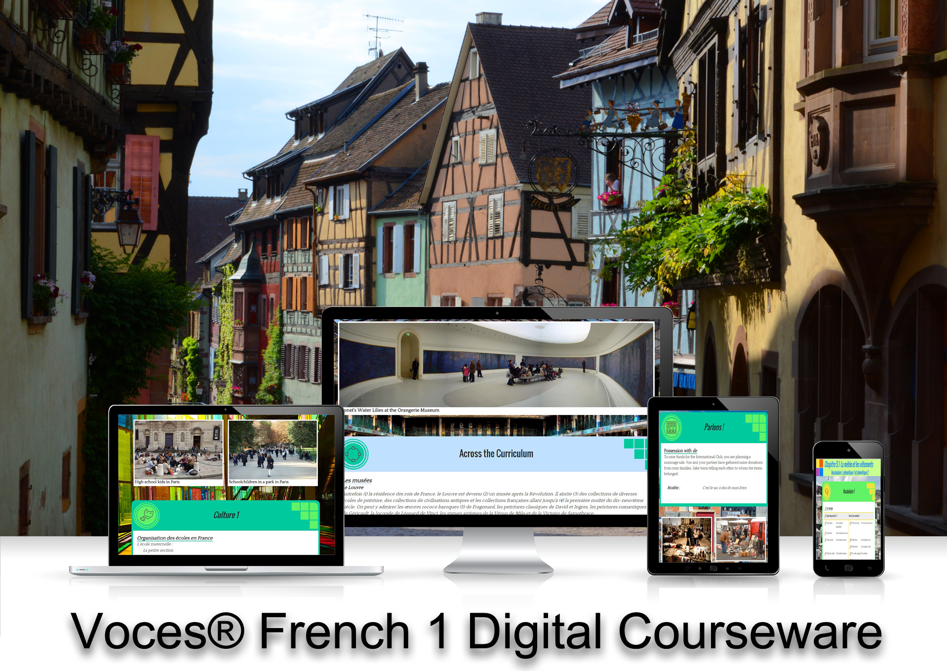 Voces® French 1 Digital Resource Subscription