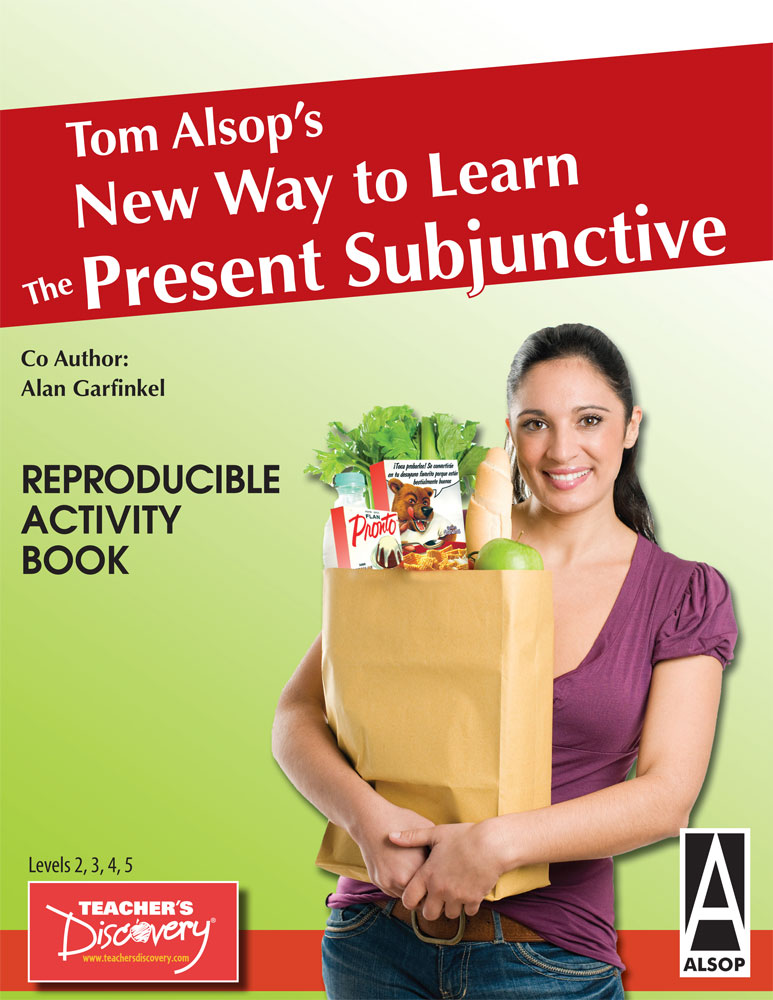 Tom Alsop's NEW Way to Learn the Present Subjunctive Spanish Activity Book Download