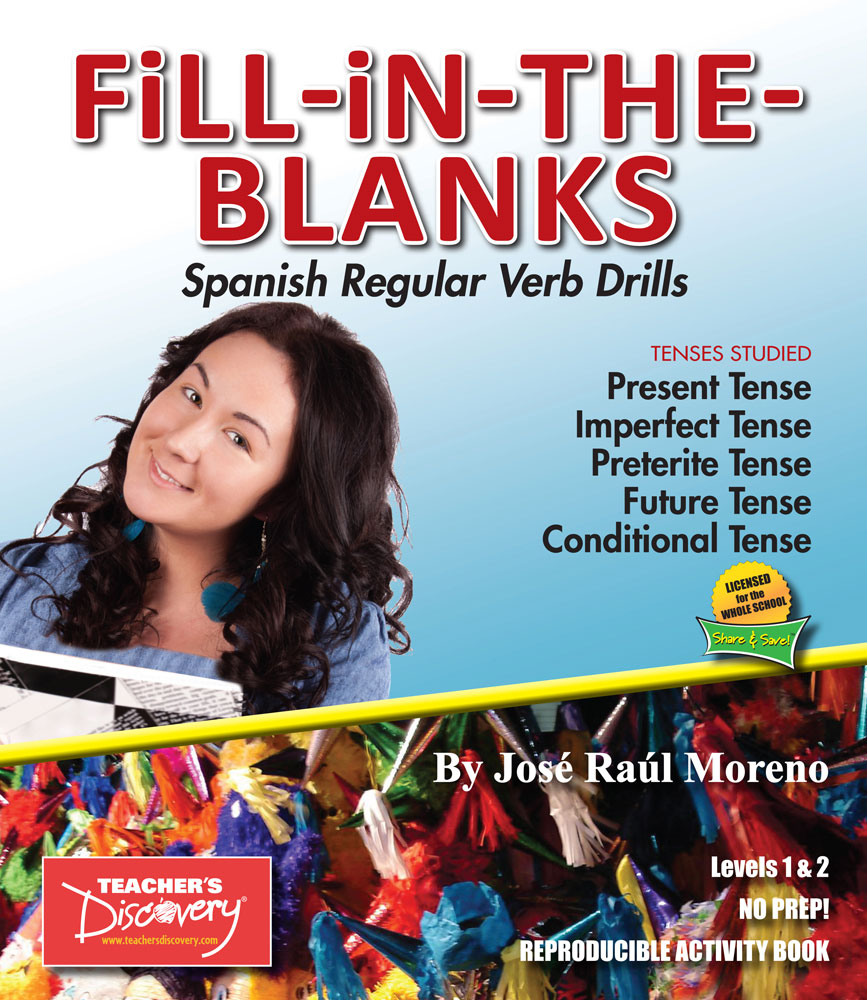 Fill-in-the-Blanks Spanish Verb Drills Book Download
