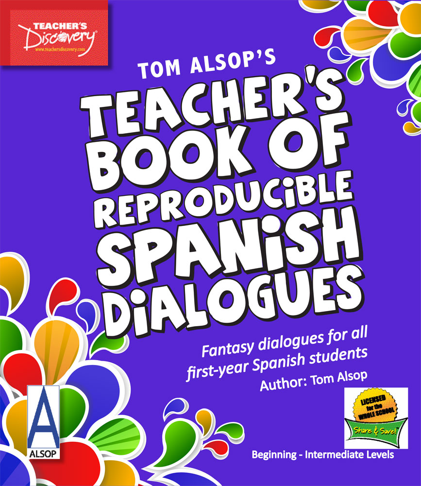 Tom Alsop's Teacher's Book of Reproducible Spanish Dialogues Download