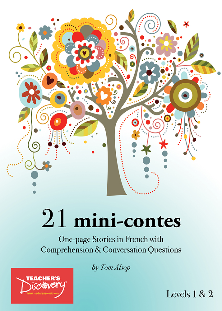 21 mini-contes French Level 1–2 Reader