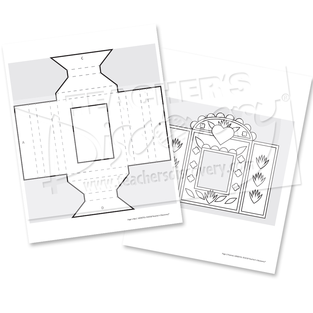 Paper Fold nicho Printable Download