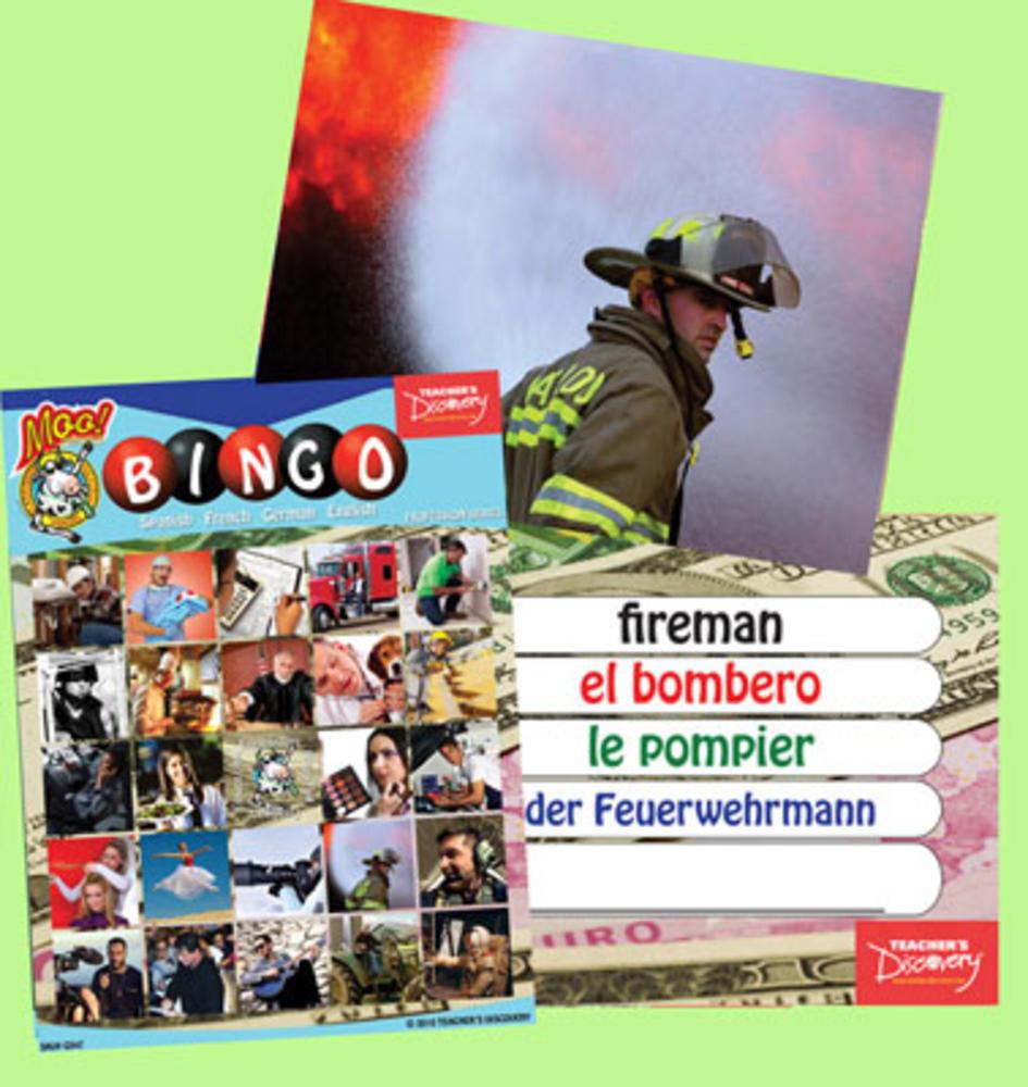 Professions Bingo & Flash Cards