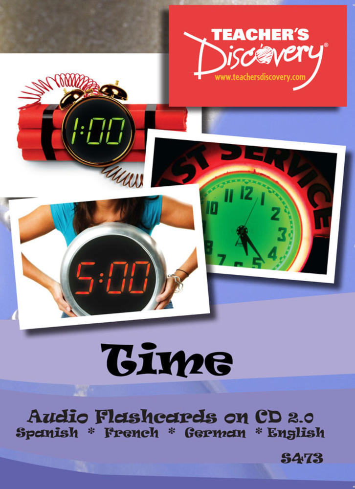 Audio Flash Cards Spanish/French/German/English Time  (2010)