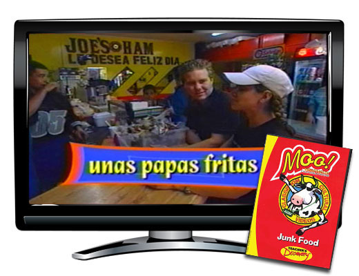 Junk Food Vocabulary Spanish DVD Download