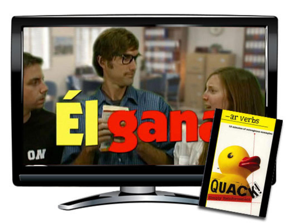 AR Verbs Spanish DVD Download