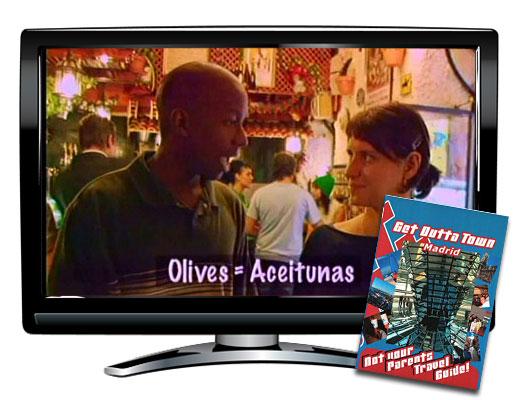 Get Outta Town Madrid DVD