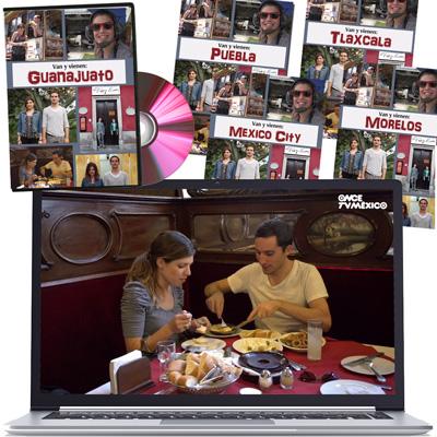 Van y vienen Travel Series Set of 5 Video Downloads
