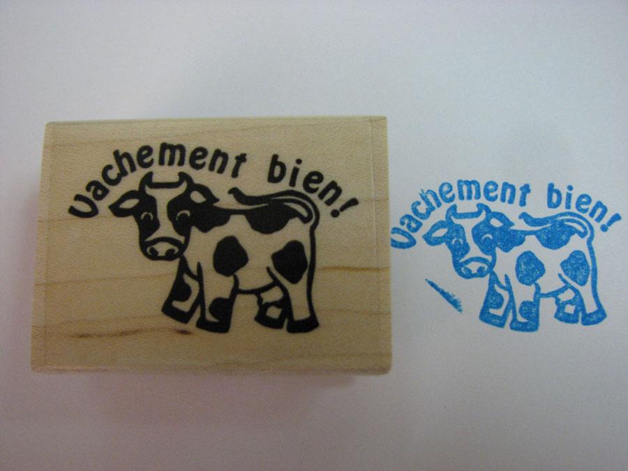 Vachement Bien French Stamper