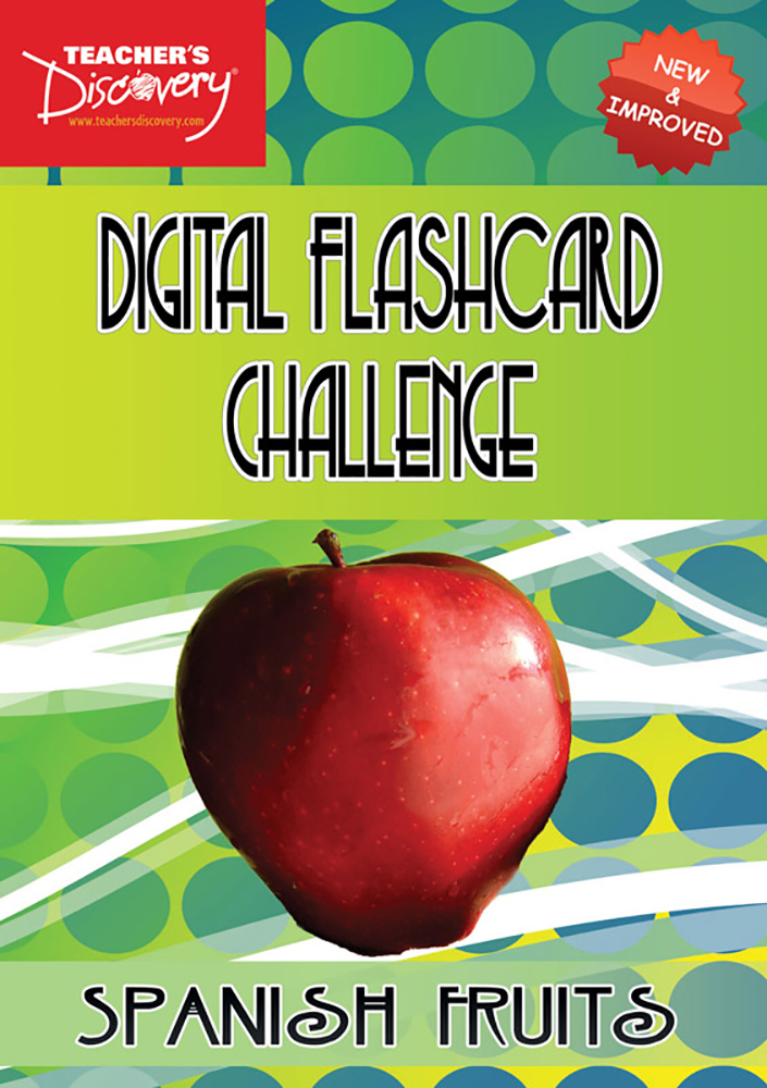 Digital Flashcard Challenge Game Spanish Fruits Download