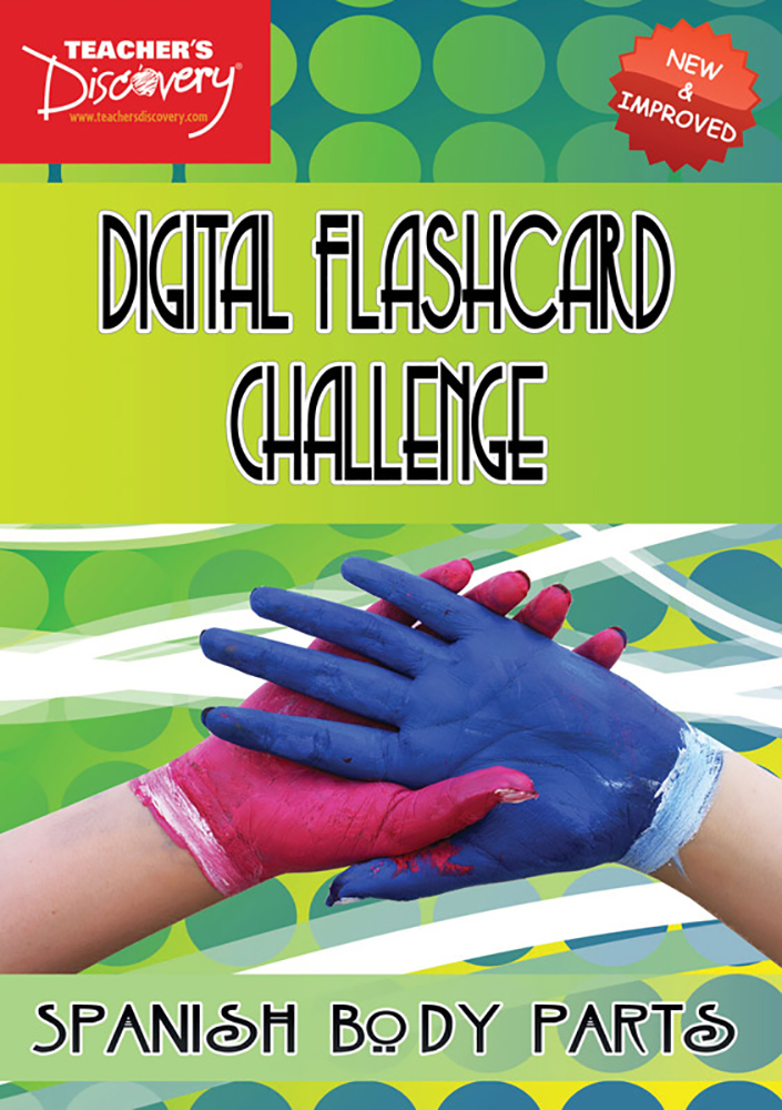 Digital Flashcard Challenge Game Spanish Body Parts Download